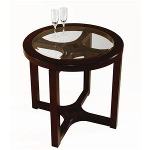 Belfort Select Juniper Round End Table
