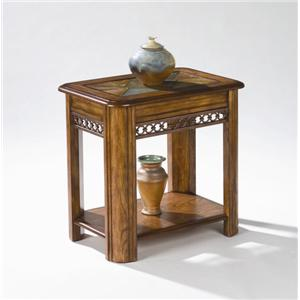 Magnussen Home Madison  Chairside End Table