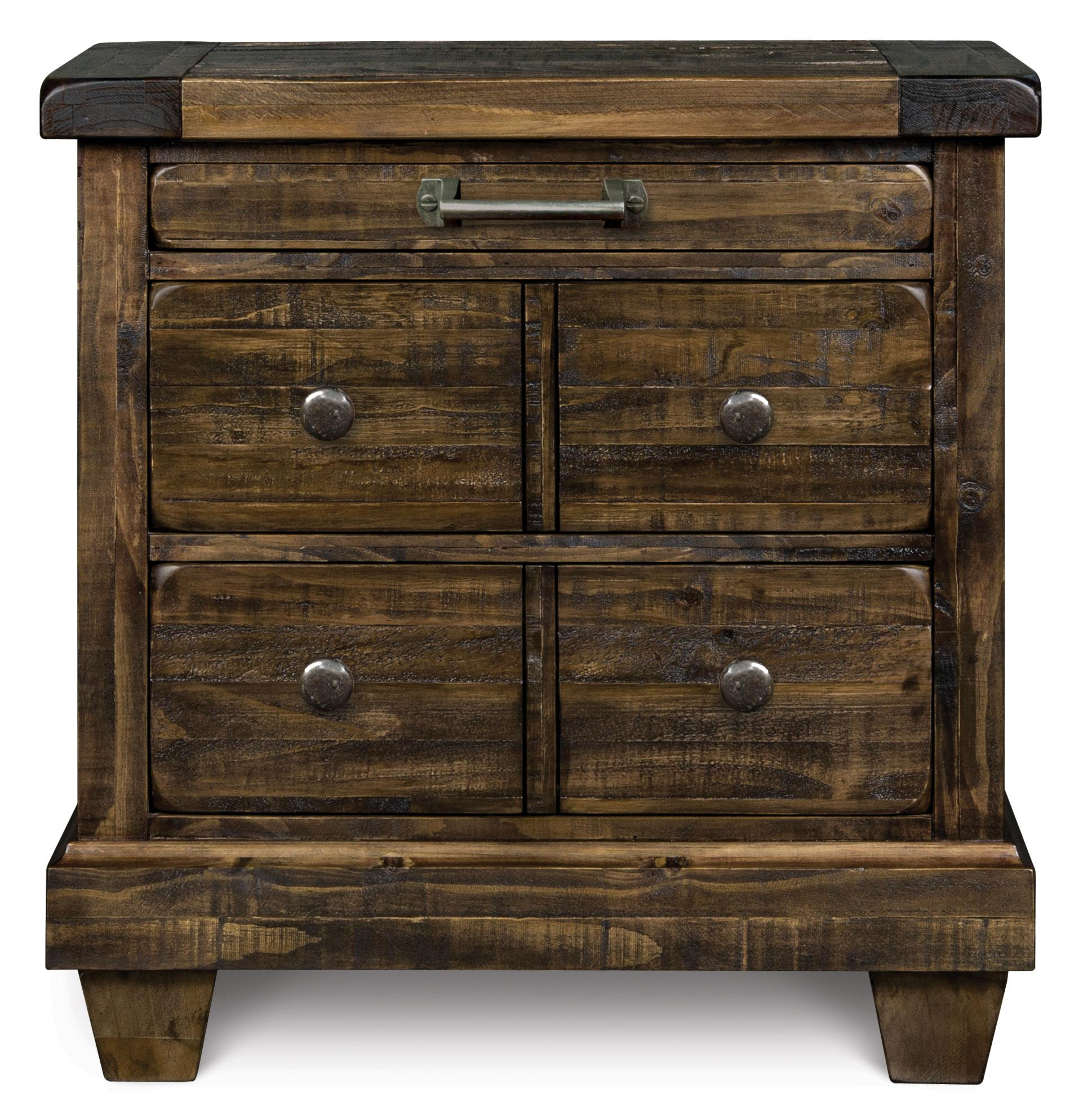 Magnussen Home  Brenley Drawer Nightstand - Item Number: B2524-01