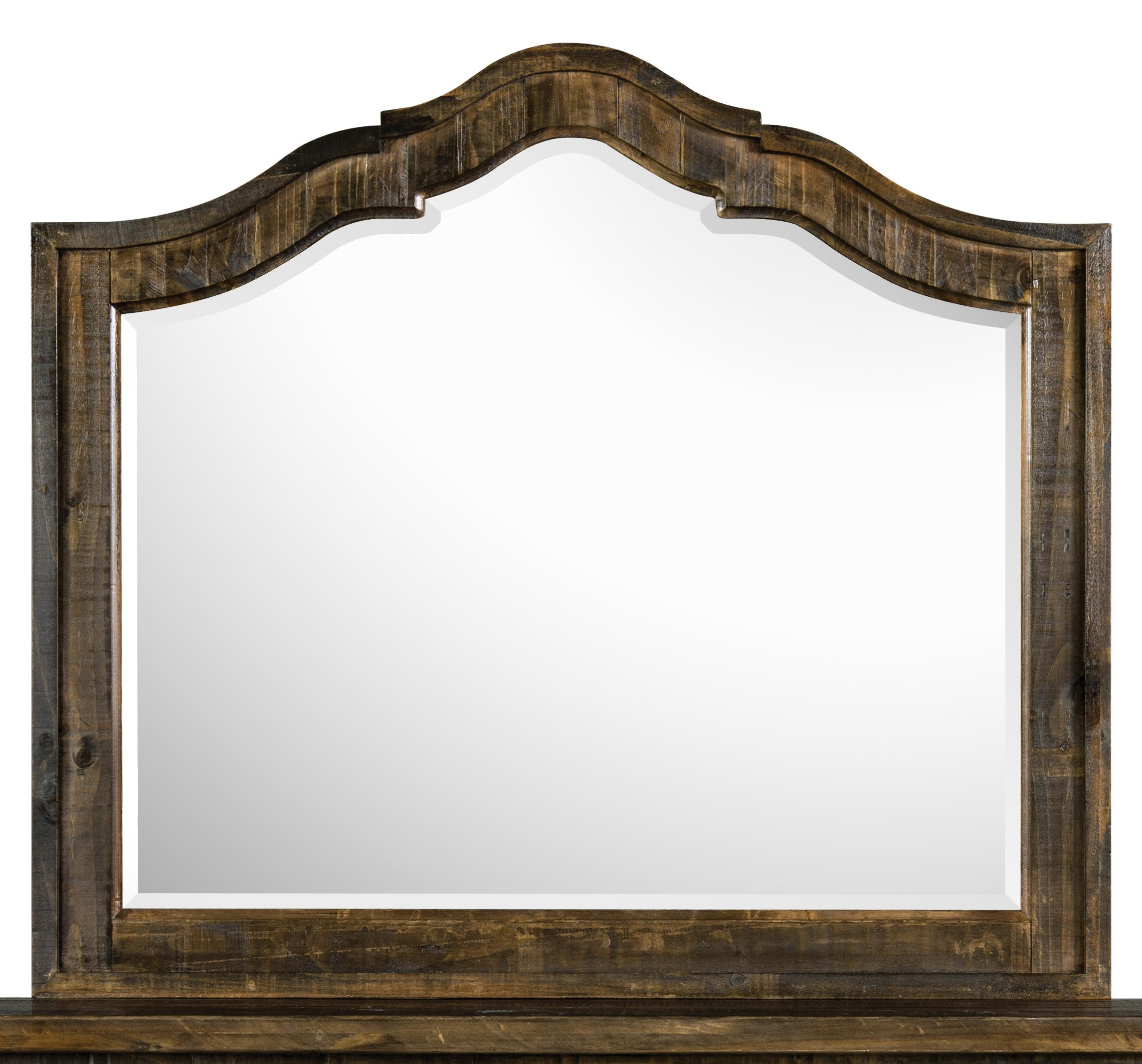 Magnussen Home  Brenley Shaped Mirror - Item Number: B2524-45
