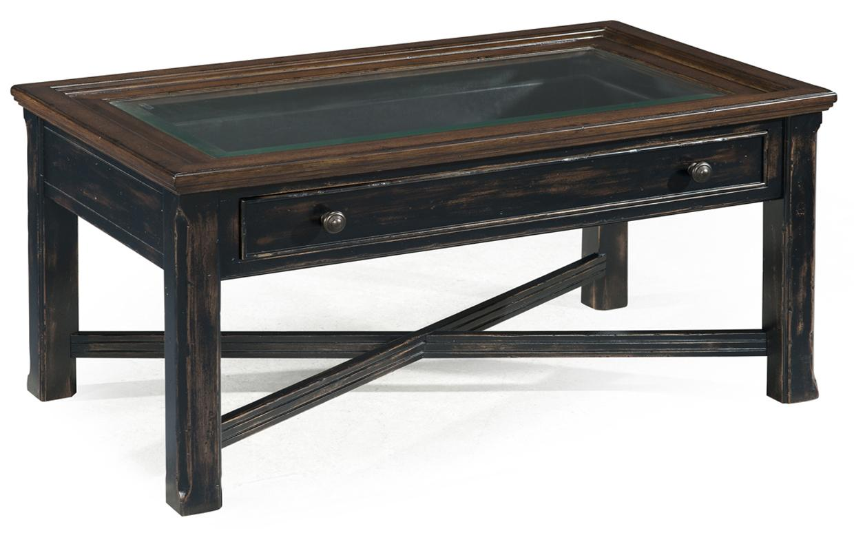 Magnussen Home  Clanton Large Rectangular Cocktail Table - Item Number: T2365-50