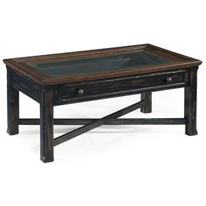 Magnussen Home  Clanton Large Rectangular Cocktail Table