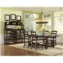 Magnussen Home  Loren 5 Piece Rectangular Table and Chair Set