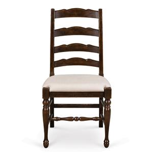 Magnussen Home  Loren Dining Chair with Upholstered Seat (2/ctn)