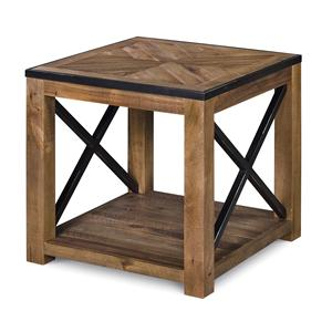 Morris Home Furnishings  Penderton Oakbrook End Table