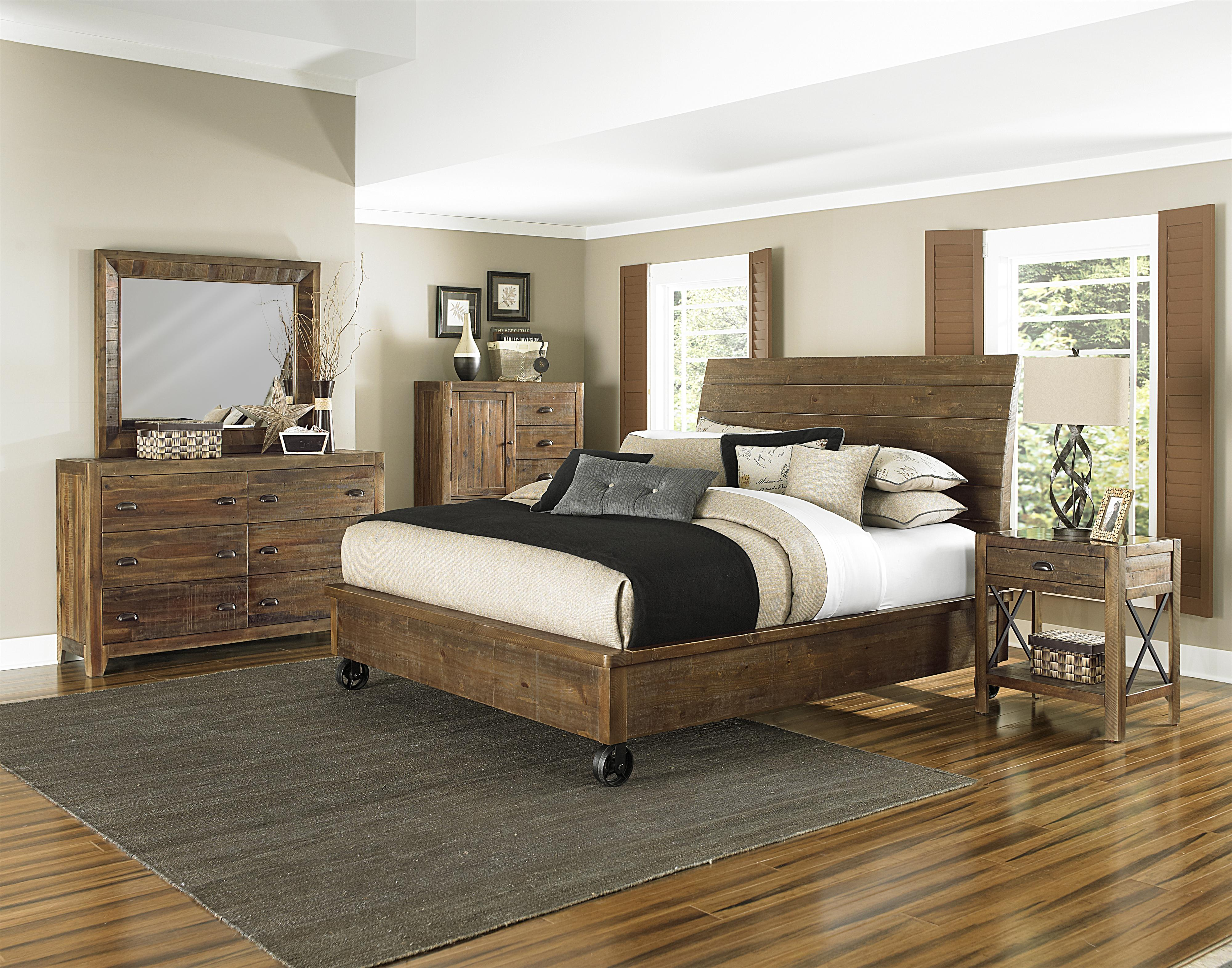 Magnussen Home  River Ridge King Bedroom Group - Item Number: B2375 K Bedroom Group 1