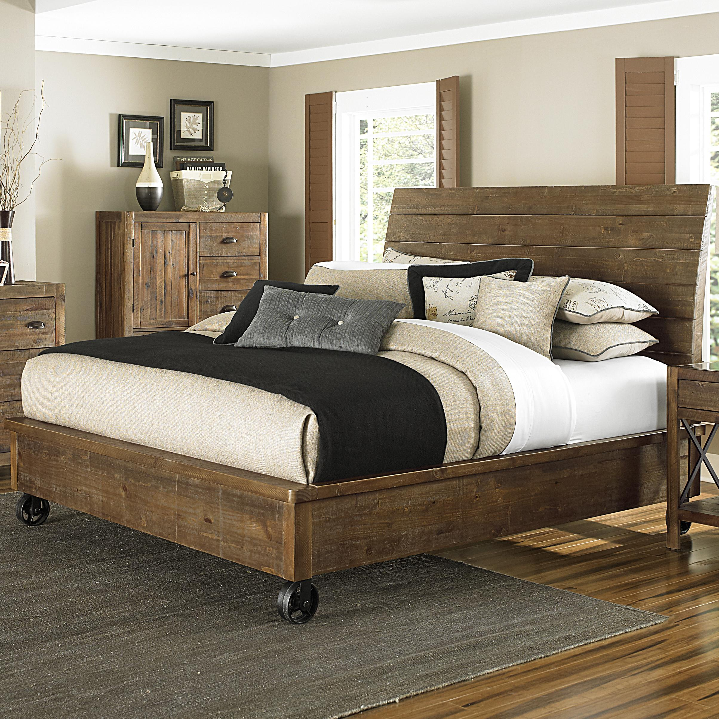 Magnussen Home  River Ridge King Panel Bed - Item Number: B2375+68H+58R+68F