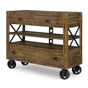 Magnussen Home  River Ridge Media Chest w/ casters