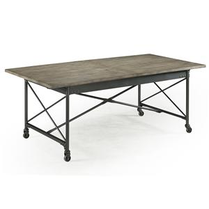 Magnussen Home  Walton Rectangular Dining Table (w/ casters)