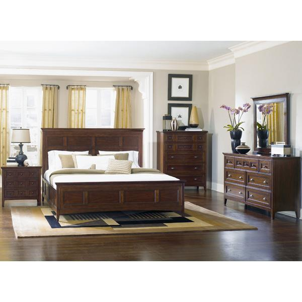 Magnussen Home Hanover 4 Piece Queen Storage Bedroom Set - Item Number: B1398-54-22-40-01