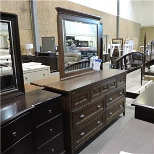 Belfort Select Clearance Dresser and Mirror