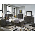 Magnussen Home Abington Queen Storage Bed with 2 Drawers
