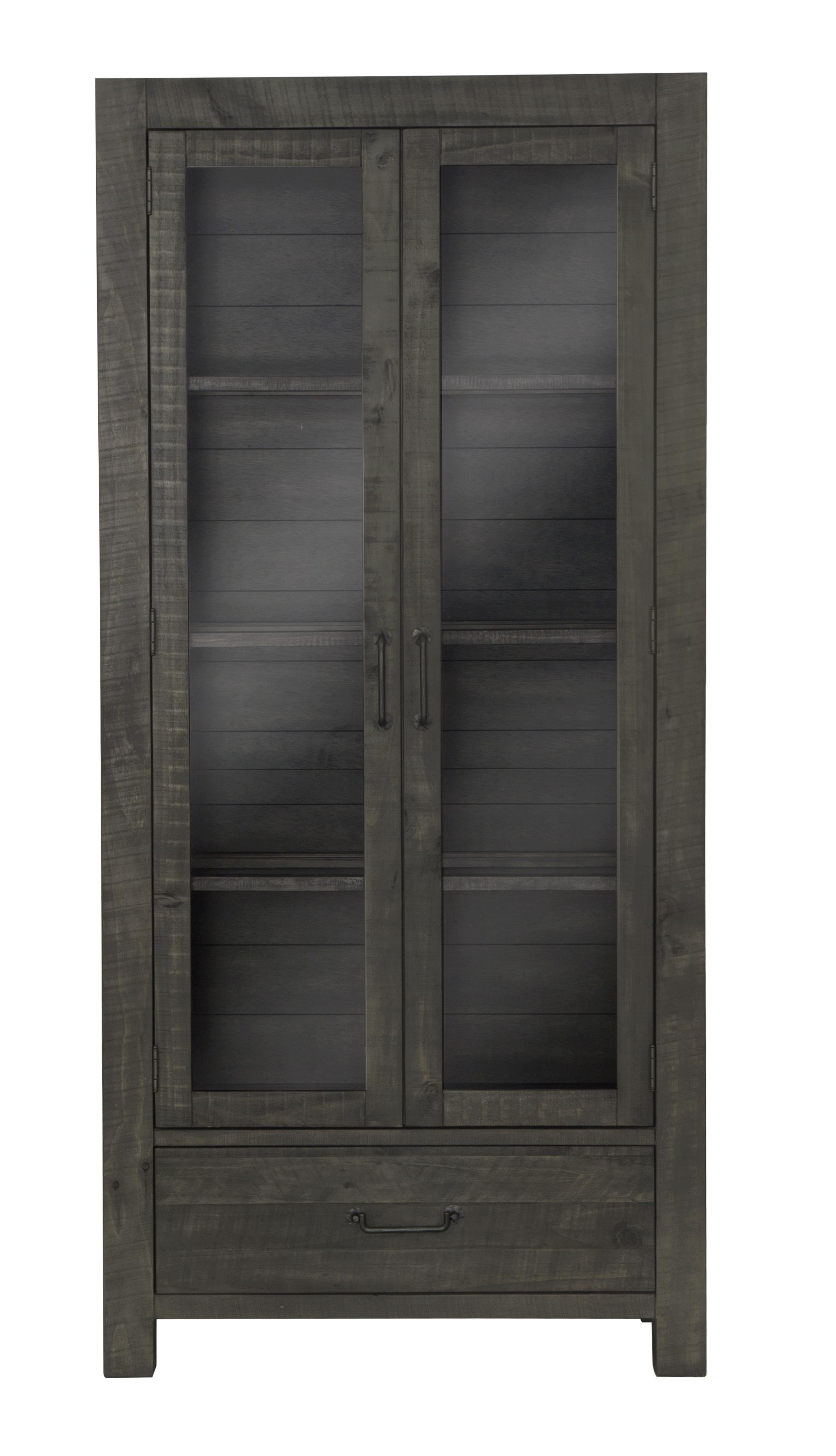 Abington Curio Cabinet by Magnussen Home at Dream Home Interiors