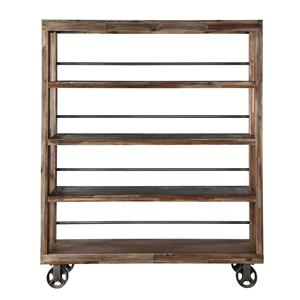Magnussen Home Silverstrand Bookcase w/Casters