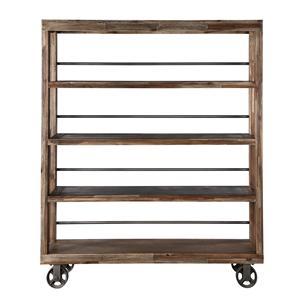 Magnussen Home Adler Bookcase w/Casters