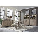 Magnussen Home Ainsley Casual Dining Room Group  - Item Number: D5333 Casual Dining Room Group 1