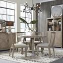 Magnussen Home Ainsley 5-Piece Dining Set  - Item Number: D5333-22+4x62