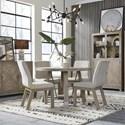 Magnussen Home Ainsley 5-Piece Dining Set  - Item Number: D5333-22+4x66