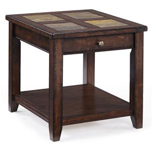 Magnussen Home Allister Rectangular End Table
