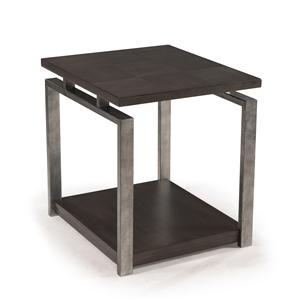 Morris Home Furnishings Flatstone Flatstone Rectangular End Table