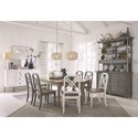 Magnussen Home Alys Beach Formal Dining Room Group - Item Number: D4864 Dining Room Group 1