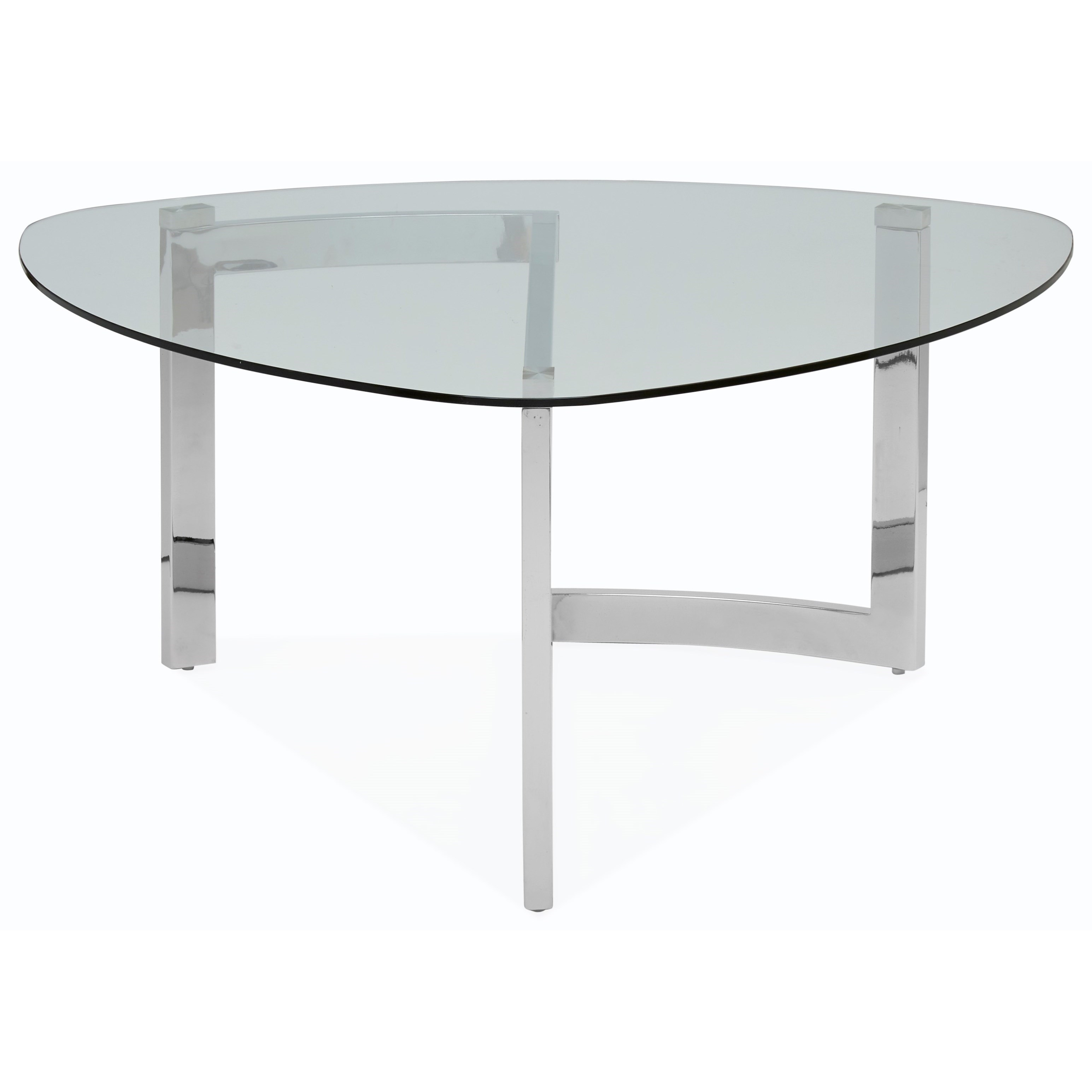 Magnussen Home Aries Contemporary Shaped Cocktail Table