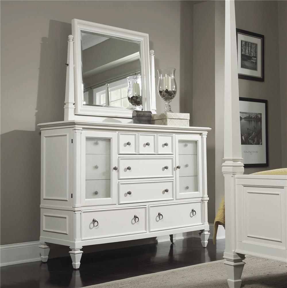 Magnussen Home Ashby Dresser and Tilt Mirror - Item Number: 71925+52