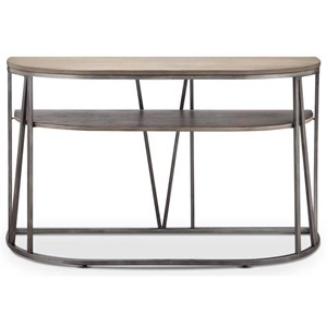Magnussen Home Avalon Demilune Sofa Table