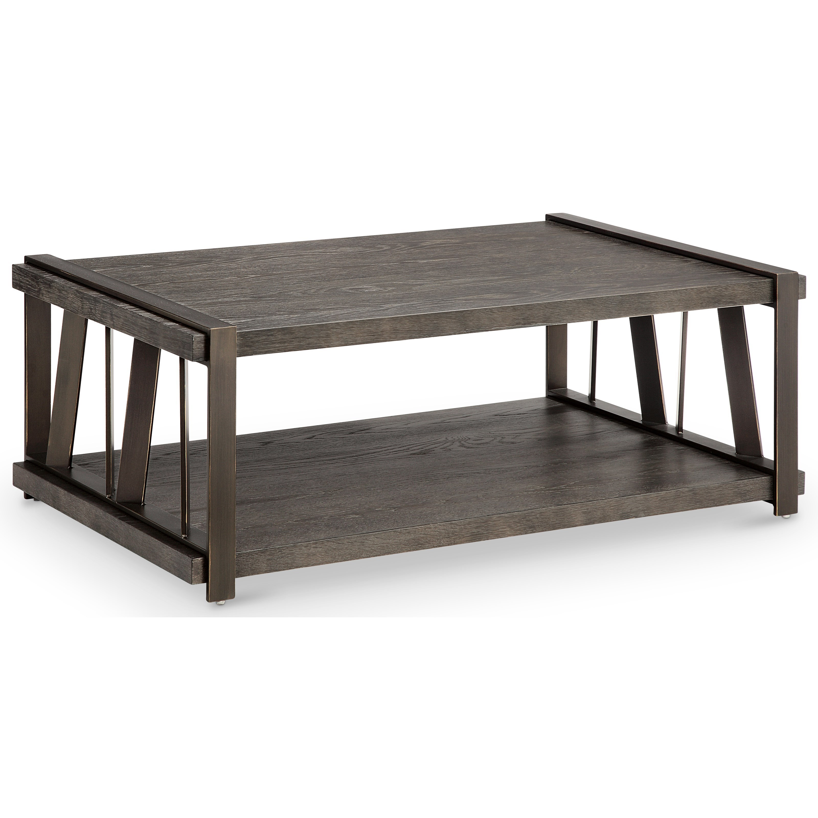 Magnussen Home Aviston Rectangular Cocktail Table With Casters   Item  Number: T4516 43