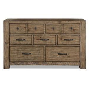 Magnussen Home Griffith Drawer Dresser
