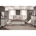 Magnussen Home Bellevue Manor California King Bedroom Group - Item Number: B4353 CK Bedroom Group 4