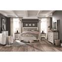Magnussen Home Bellevue Manor Queen Bedroom Group - Item Number: B4353 Q Bedroom Group 3