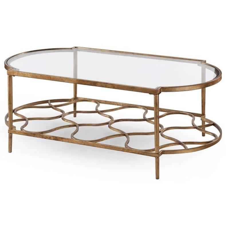 Belfort Select Bancroft 4038 Metal Cocktail Table - Item Number: T4038-43