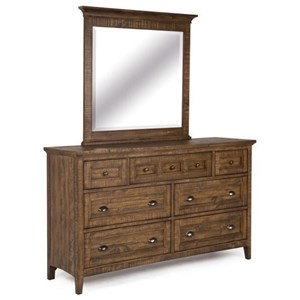Robinson Home Collection Bay Creek Dresser and Mirror Set