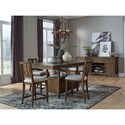 Magnussen Home Bay Creek Casual Dining Room Group - Item Number: D4398 Dining Room Group 2