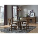 Magnussen Home Bay Creek Casual Dining Room Group - Item Number: D4398 Dining Room Group 3