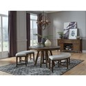 Magnussen Home Bay Creek Casual Dining Room Group - Item Number: D4398 Dining Room Group 4