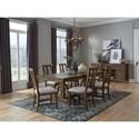 Magnussen Home Bay Creek Formal Dining Room Group - Item Number: D4398 Dining Room Group 5
