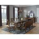 Magnussen Home Bay Creek Formal Dining Room Group - Item Number: D4398 Dining Room Group 7
