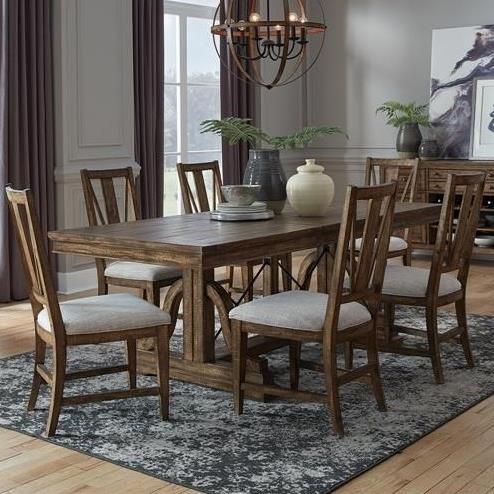 Bay Creek 7-Piece Dining Set by Magnussen Home at Value City Furniture