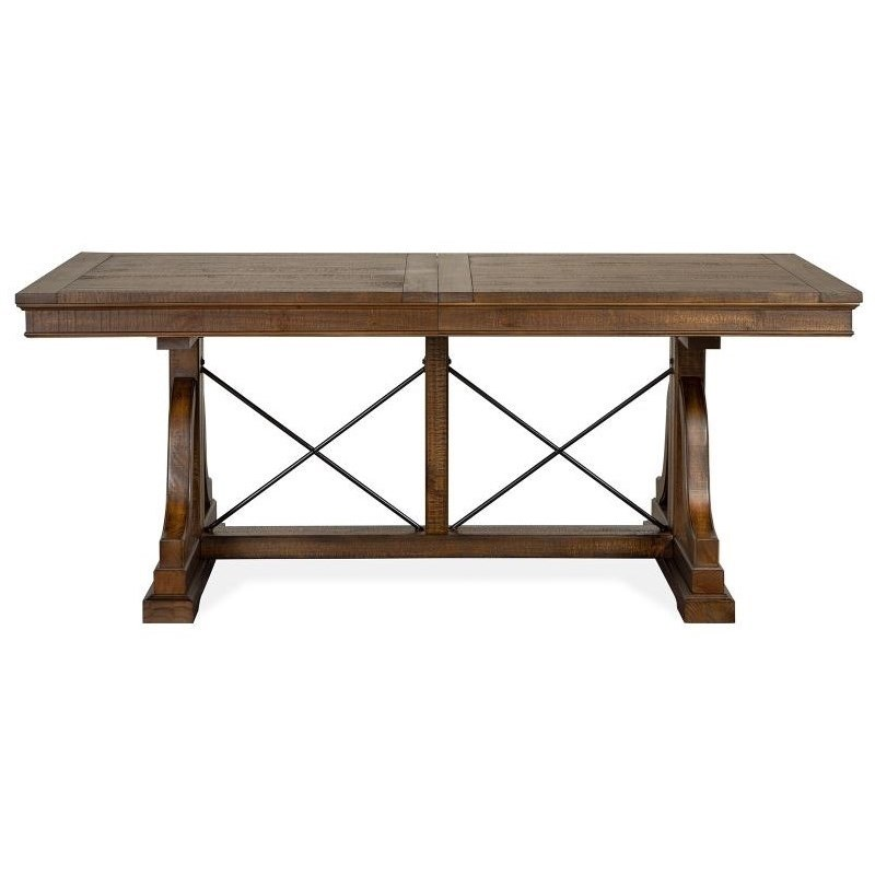 Bay Creek Dining Trestle Table by Magnussen Home at Value City Furniture