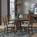 Magnussen Home Bay Creek 5-Piece Dining Set - Item Number: D4398-27+4X62