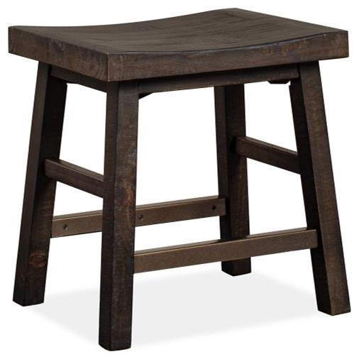 Westley Falls Stool by Magnussen Home at Value City Furniture