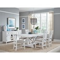 Magnussen Home Heron Cove Formal Dining Room Group - Item Number: D4400 Dining Room Group 2