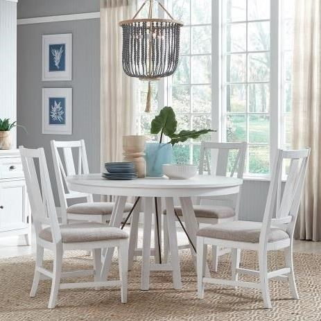 Heron Cove 5-Piece Dining Set by Magnussen Home at Stoney Creek Furniture
