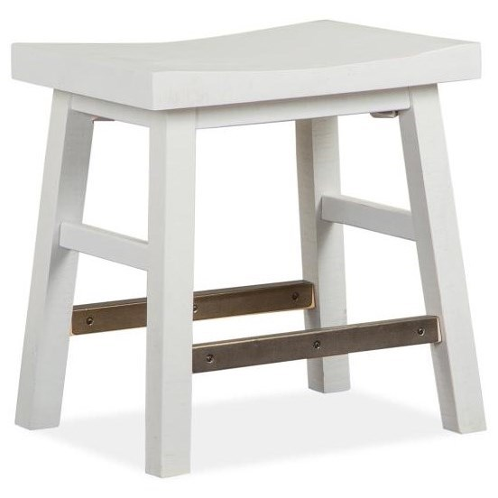 Heron Cove Stool by Magnussen Home at Stoney Creek Furniture