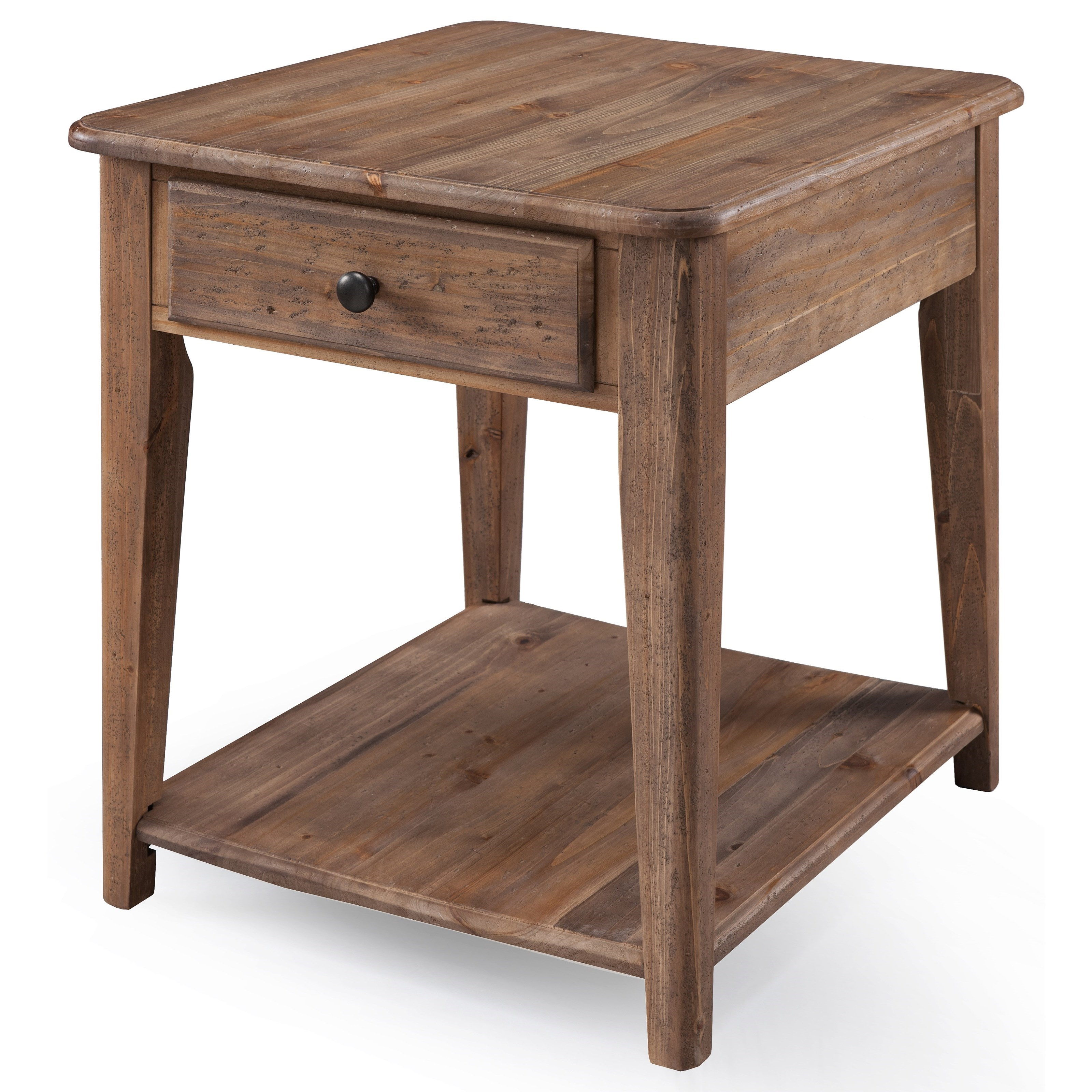 Baytowne End Table by Magnussen Home at HomeWorld Furniture