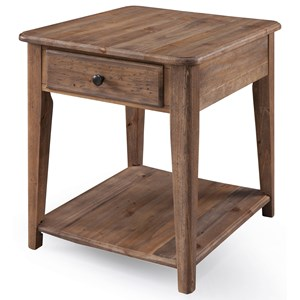 Magnussen Home Baytowne Rectangular End Table