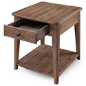 Magnussen Home Baytowne Casual End Table with Drawer