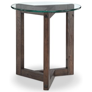 Magnussen Home Beck Round End Table